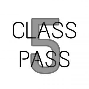 Member Training Pass: 5 Class Pass