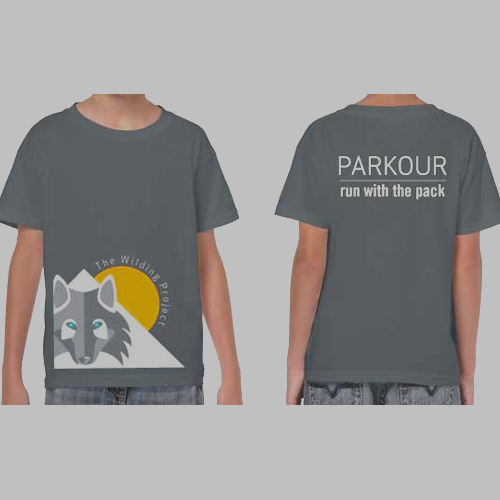 PARKOUR: Club T-Shirt (XS, S, M, L, XL – see sizing chart)