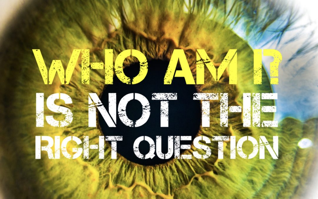 'Who Am I?' Is NOT The Right Question