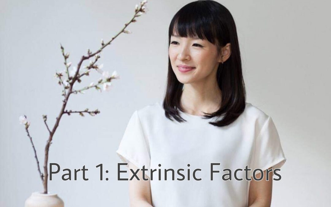 Marie Kondo – Your Time is (NEARLY) DONE! PART 1