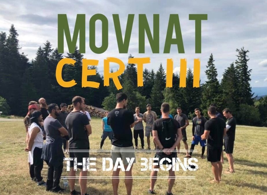 MovNat Cert III, Day 1: The Day Begins