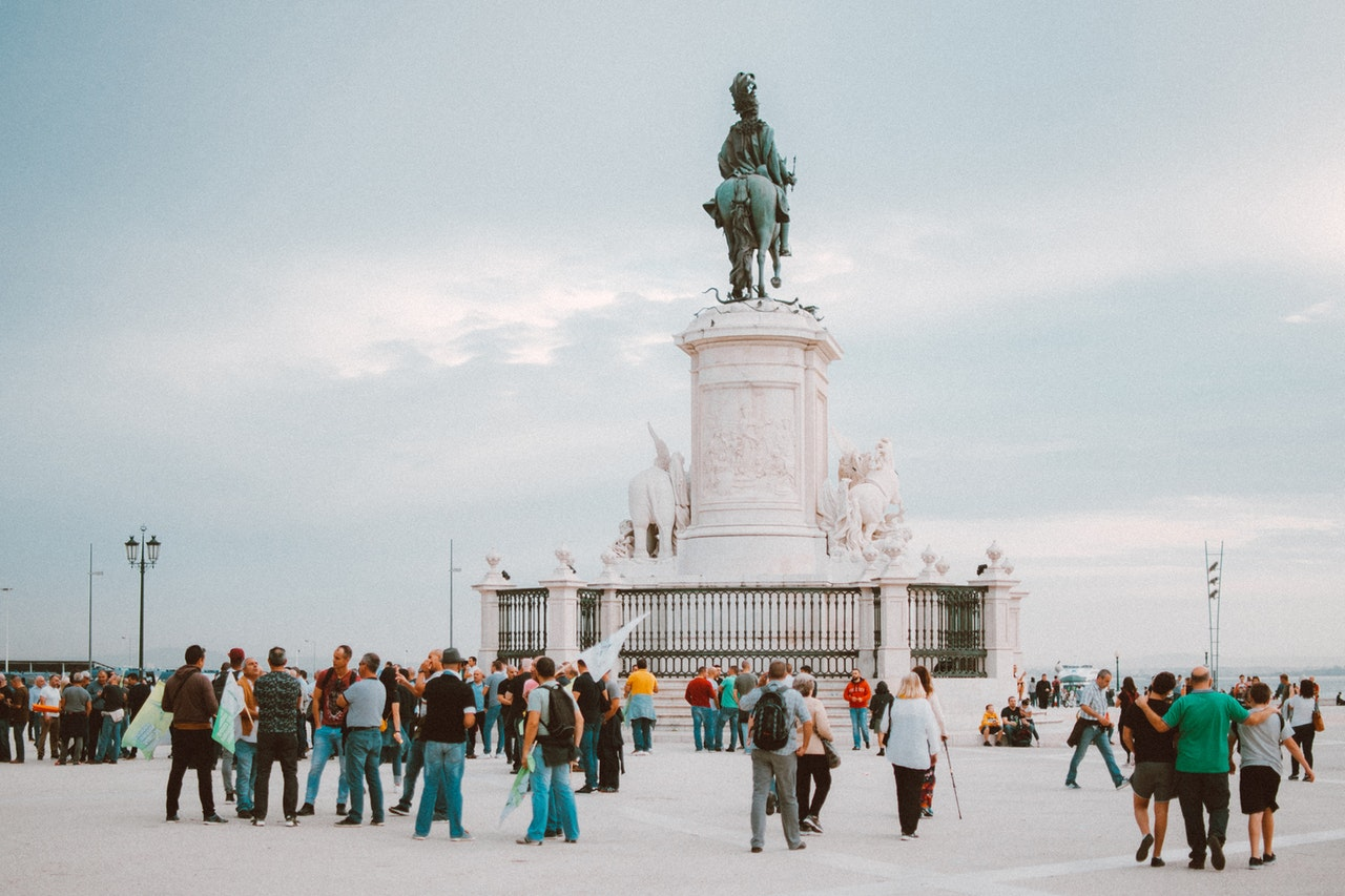 people-standing-near-statue-1857395